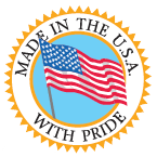 Made in the U.S.A. with Pride logo