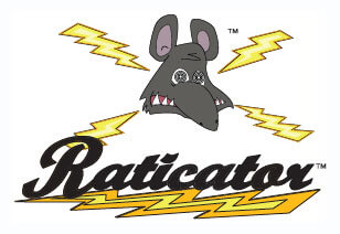Raticator cartoon image of zapped rat