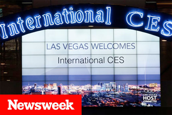 Newsweek features Raticator at the International COnsumer Electronics Show in Las Vegas - image